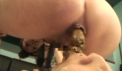 Japanese mistress delivers scat to mouth